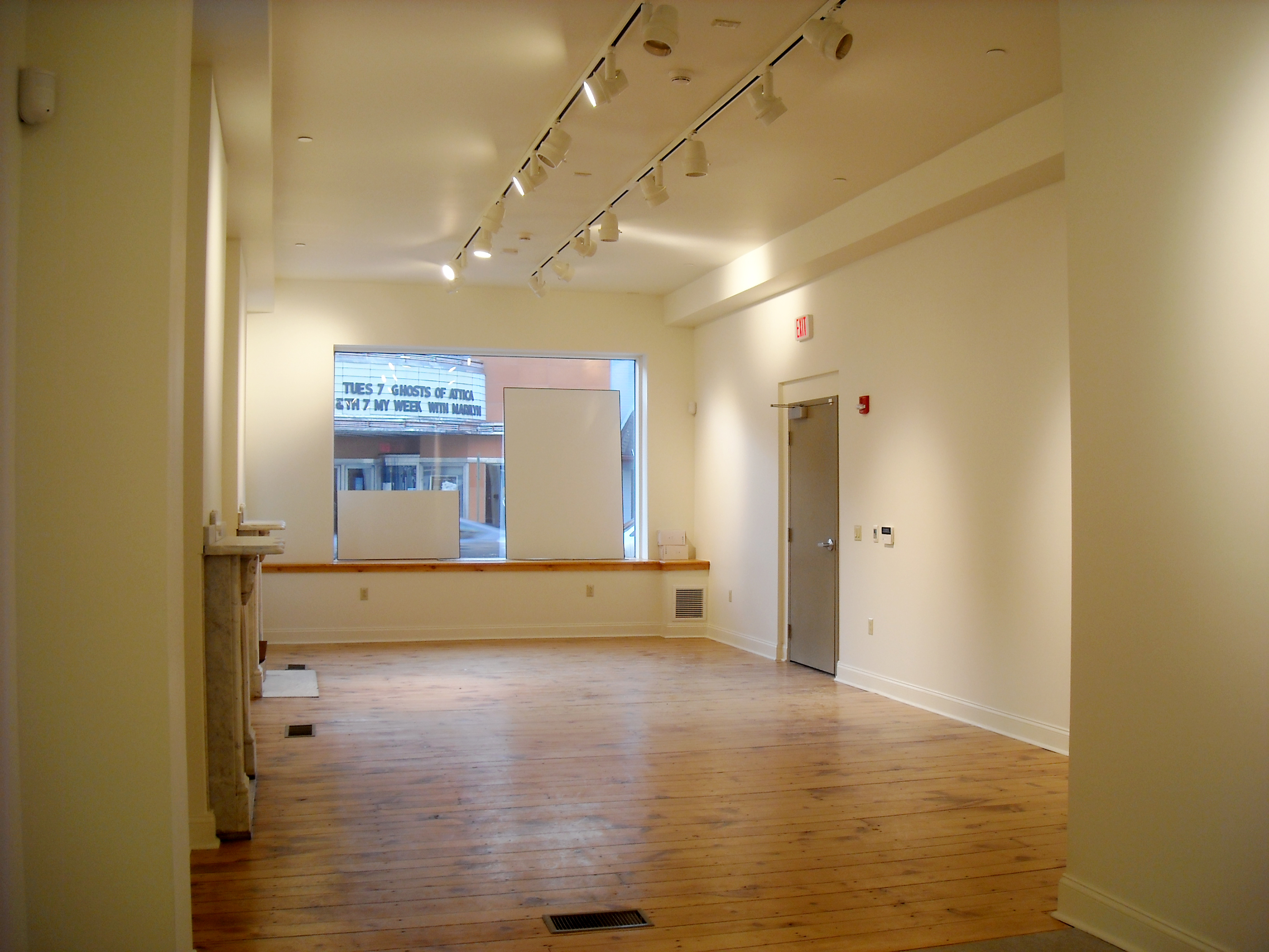 The Samek Art Gallery after renovations at the DeWitt Building at Bucknell University.