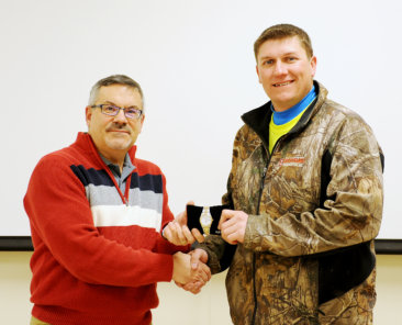 Construction Superintendent Zach Boyer earned 25,000 safety hours.
