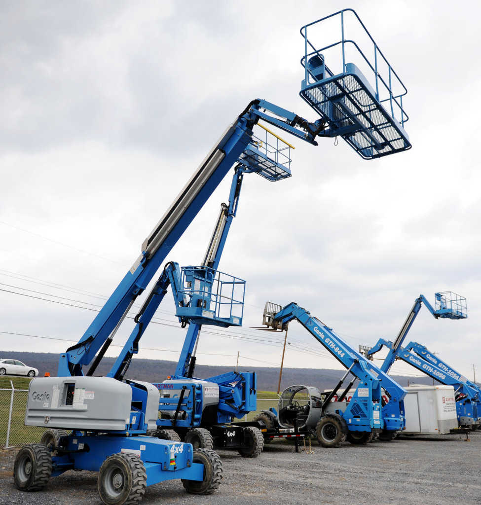 Boom Lift Rental | Zartman Construction, Inc