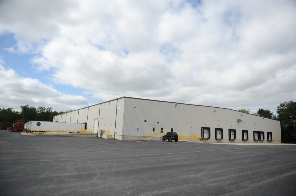 A new distribution facility built in Milton.