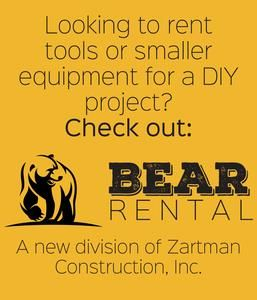 If you are looking to rent tools or small equipment for your next project, check out Bear Rental.