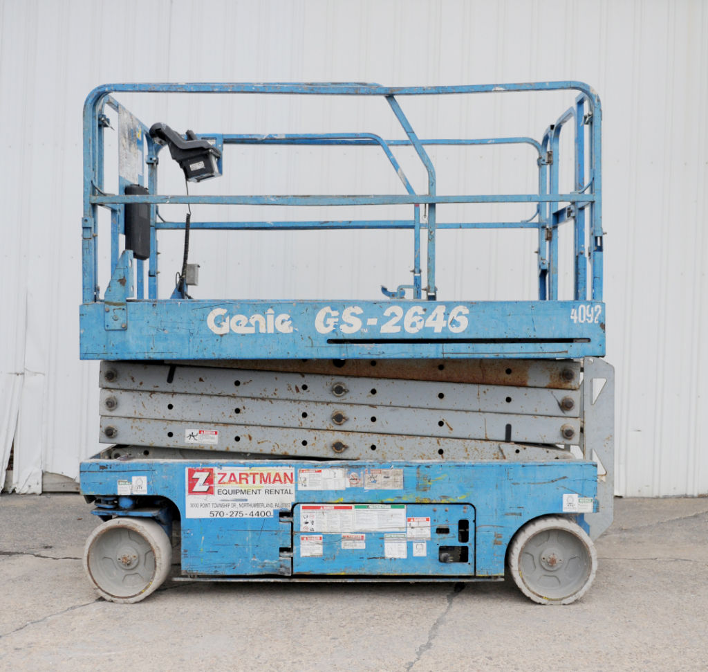 Genie GS-2646 scissor lift rental