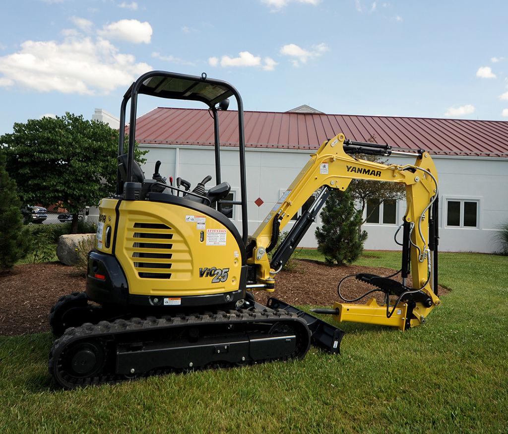 Yanmar ViO25 Compact Excavator Rental