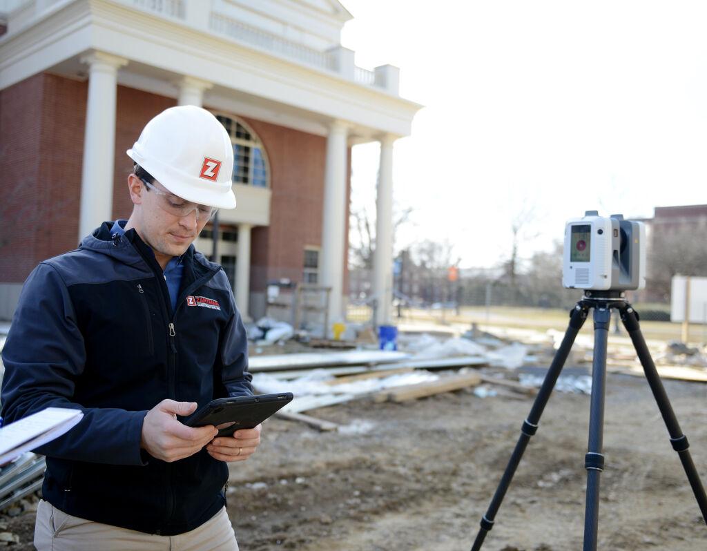 Dan Zartman begins an architectural scan
